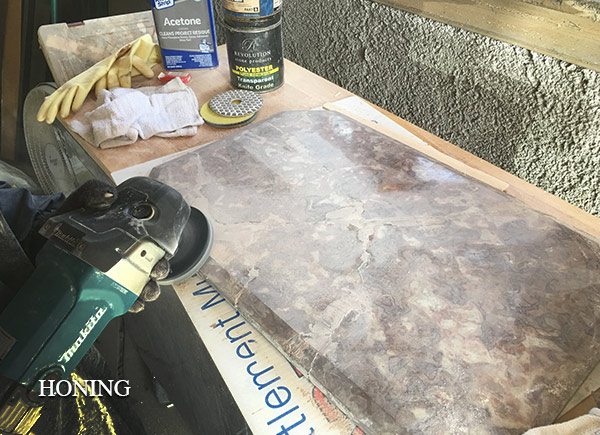marble-honing