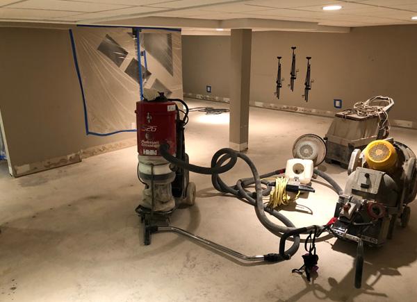 Concrete Floor Honing and Polishing