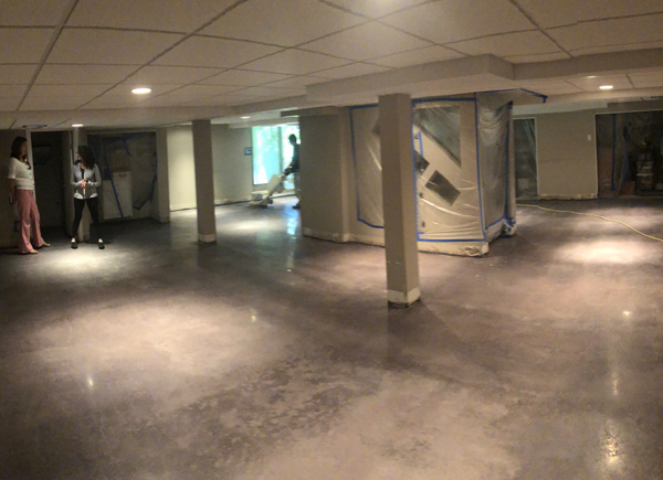 Concrete Floor Polishing and Staining
