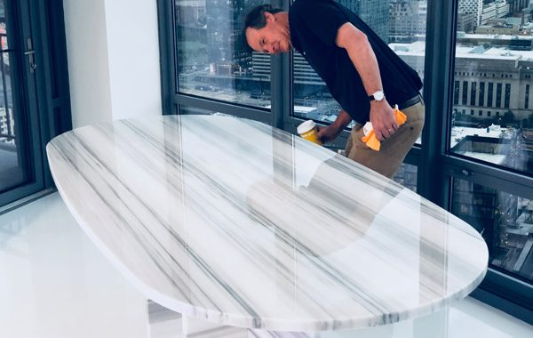 StoneGuard® For Marble Table